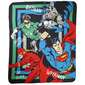 DC Comics Justice League Throw Multicoloured