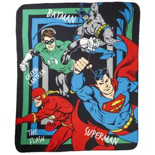 DC Comics Justice League Throw