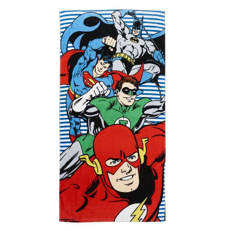 DC Comics Justice League Bath Towel Multicoloured