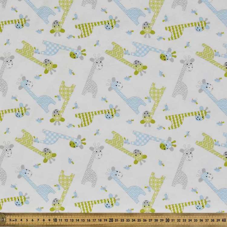 Giraffe Flannelette