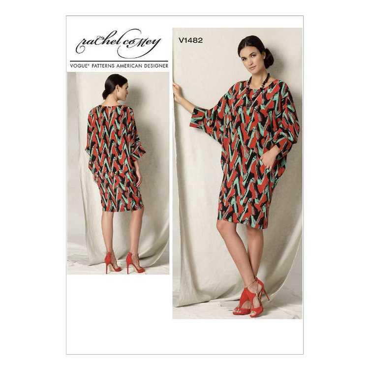Vogue Pattern V1482 Misses' Batwing & Dolman-Sleeve Dress