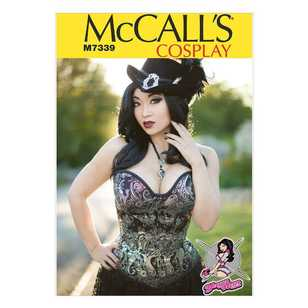McCall's Pattern M7339 Misses' Over Bust & Under Bust COrsets by Yaya Han