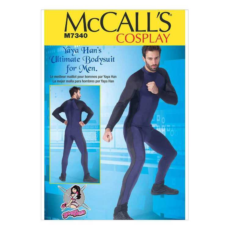 McCall's Pattern M7340 Men's Zippered Bodysuit by Yaya Han