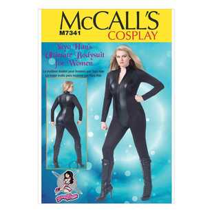 McCall's Pattern M7341 Women's Zippered Bodysuit by Yaya Han