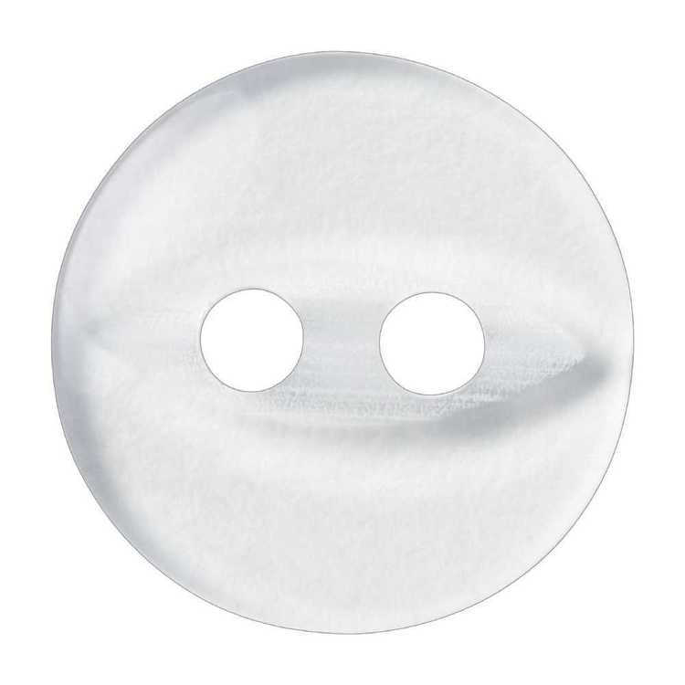 Hemline Fish Eye 2-Hole Eye Round 18 Button