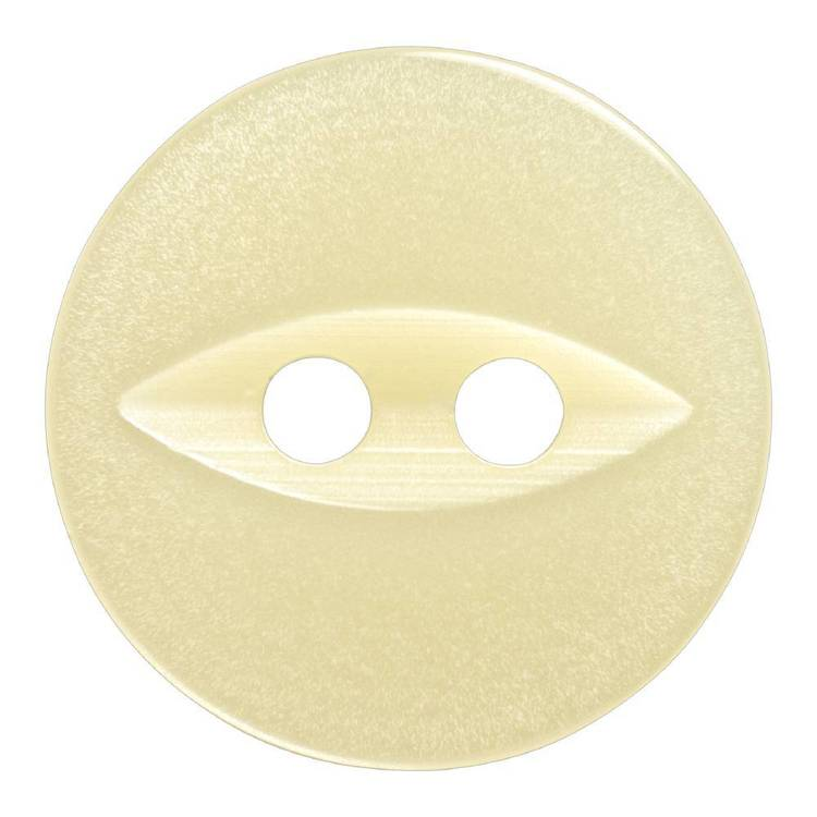 Hemline Fish Eye 2-Hole Eye Round 22 Button