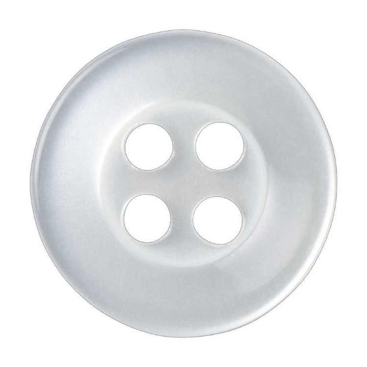 Hemline Basic 4-Hole Shirt 16 Button