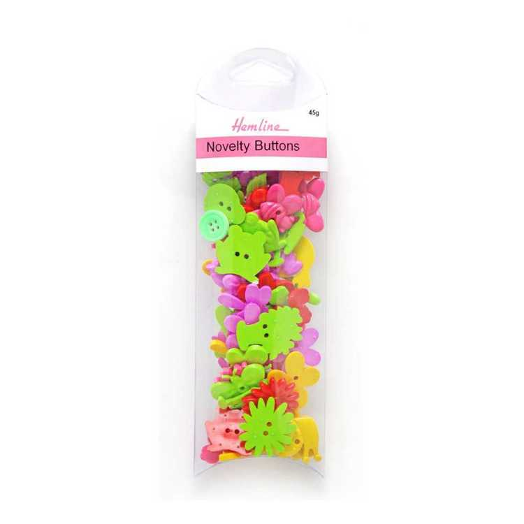 Hemline Garden Novelty Buttons