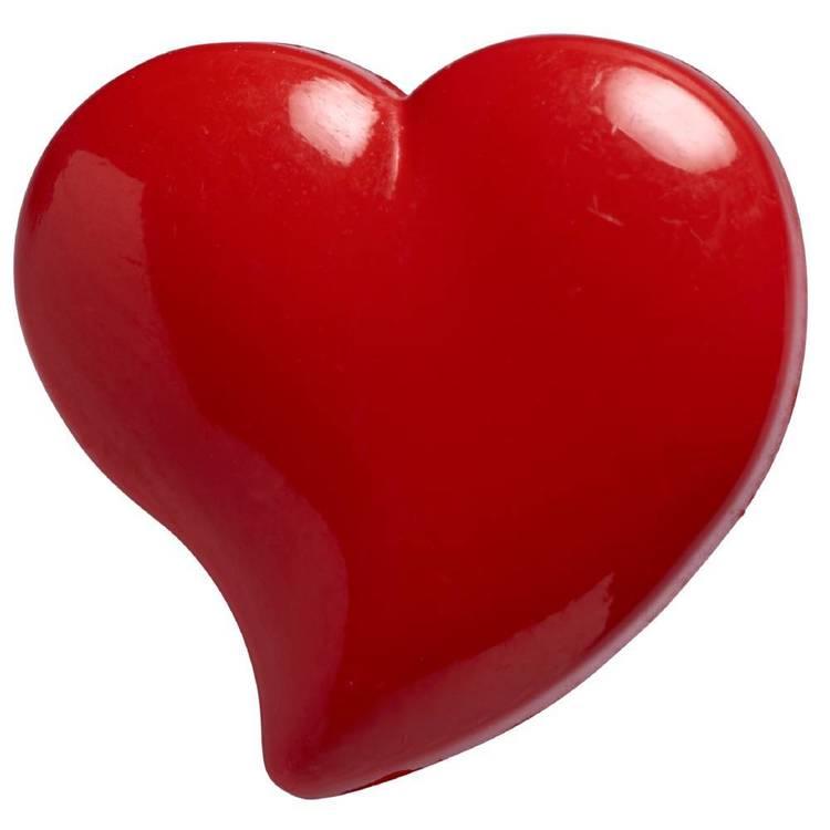 Hemline Heart Shaped Shank Button