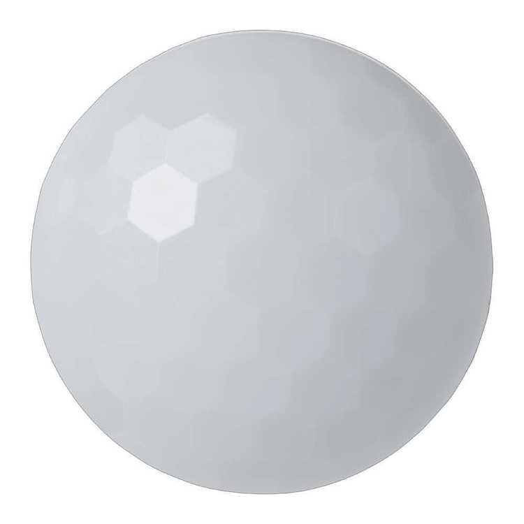 Hemline Diamond Cut Solid Dome Button