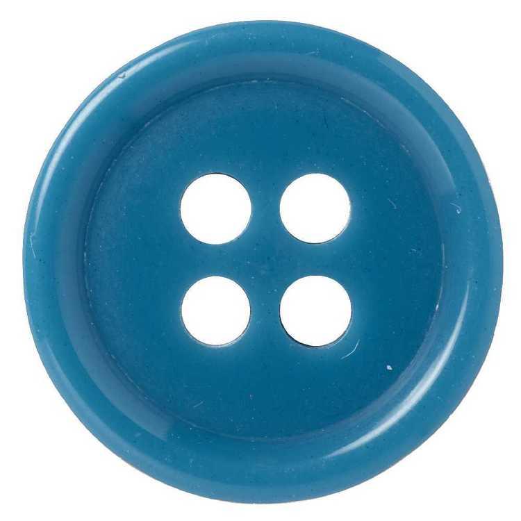Hemline Suit Mottle 4-Hole Button