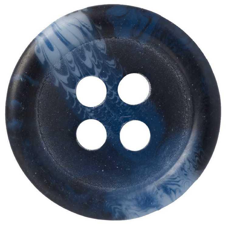 Hemline Marble Style 4-Hole 24 Button