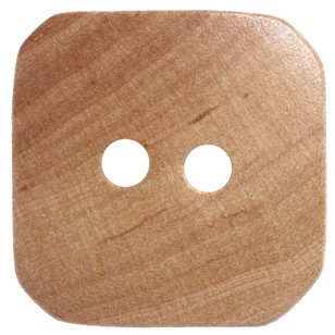 Hemline Square Wooden 24 Button