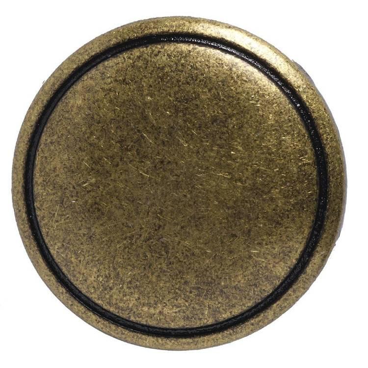 Hemline Metal Round Shank 24 Button