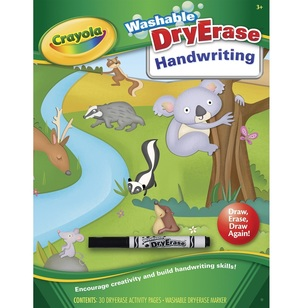 Crayola Dry Erase Handwriting Workbook