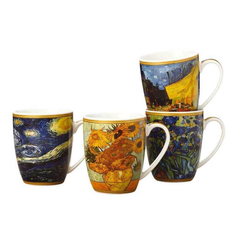 Casa Domani Impressions Van Gogh Mug Set