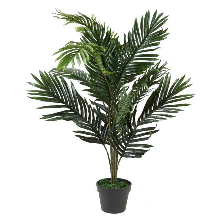 Botanica Artificial Areca Palm Tree Multicoloured 90 cm