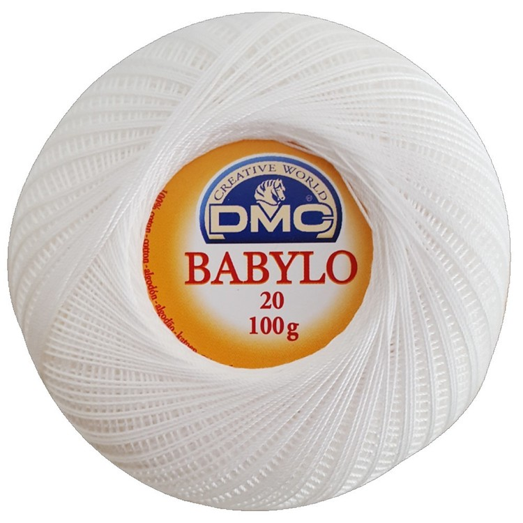 DMC Babylo 100 G Crochet Cotton Thread No. 20 100 g