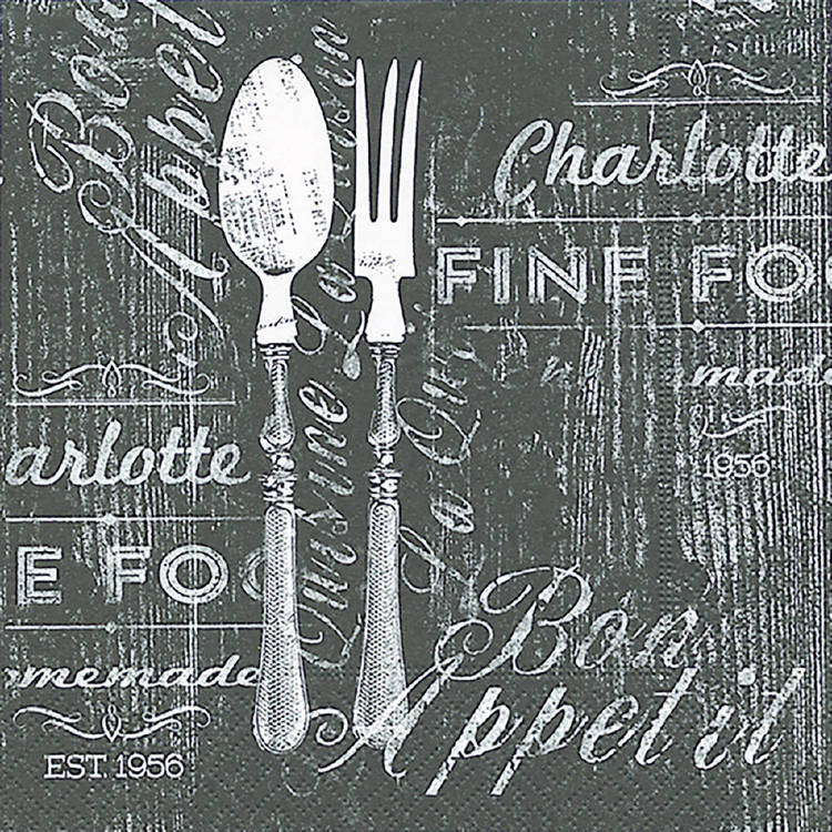 Paper Plus Design Bon Appetit Luncheon Napkin