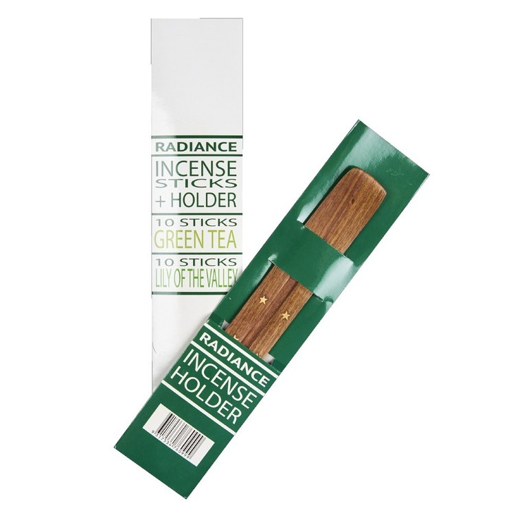 Radiance Incense Pack With Holder