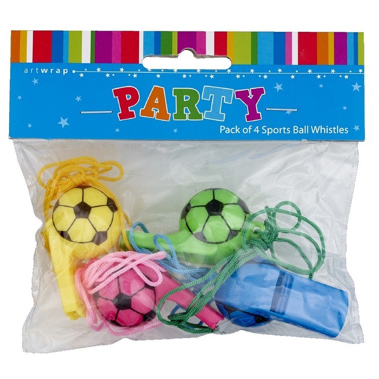 Favour Sports Ball Whistle Pack