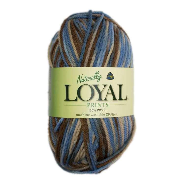 Naturally Loyal Print 8 Ply Pure Wool Yarn