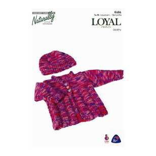 Naturally Loyal 8 Ply Baby Print Set 3 K686 Pattern Book