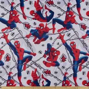 Spider-Man Web Warrior Triple Weave Fabric