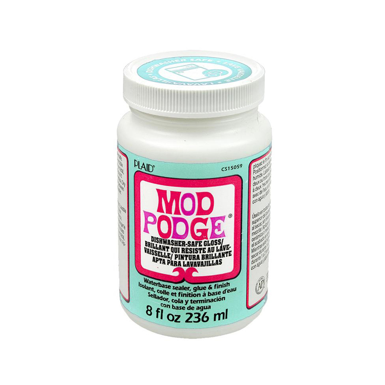 Plaid Mod Podge Dishwasher Safe Gloss