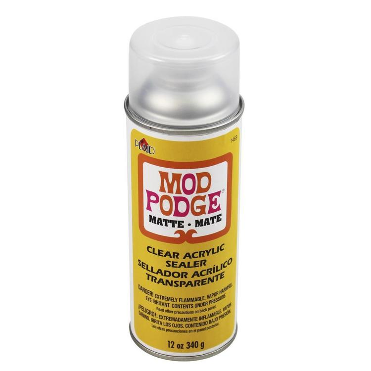 Plaid Mod Podge Matt Sealers Multicoloured