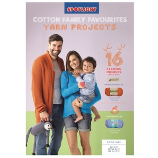 4 Seasons Cotton Famliy Favourites Yarn Projects