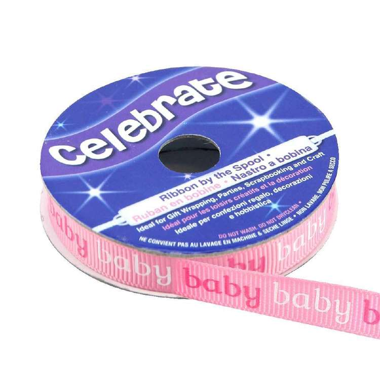 Celebrate Baby Baby Grosgrain Ribbon