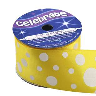 Celebrate Spot Satin Ribbon
