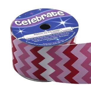 Celebrate Chevron Satin Ribbon