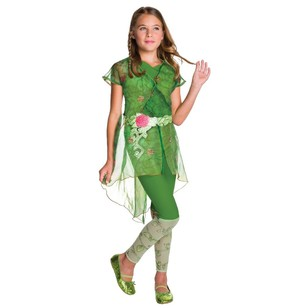 DC Comics Super Girls Poison Ivy Costume