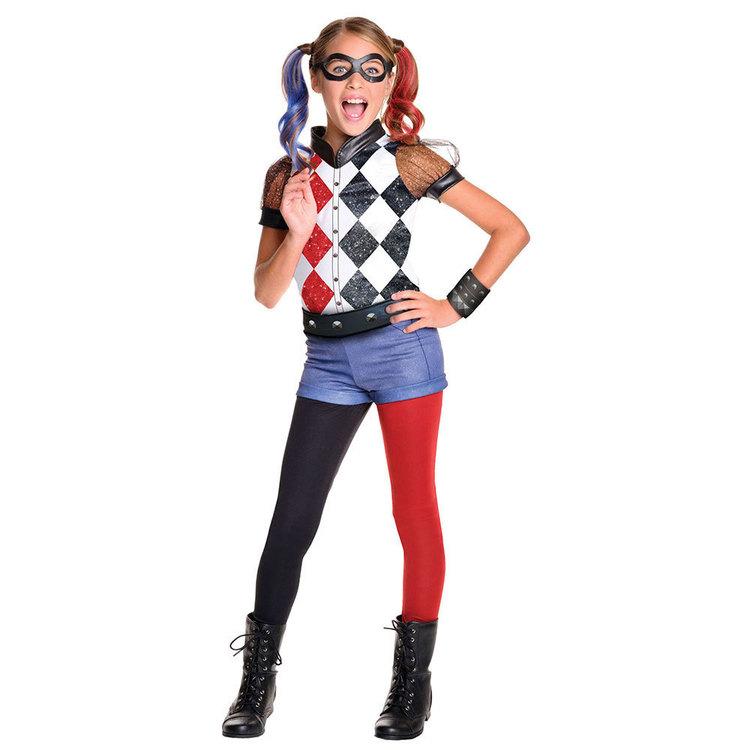 DC Comics Dc Harley Quinn Costume Kids Costume