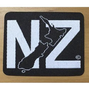 New Zealand Map Of NZ Motif
