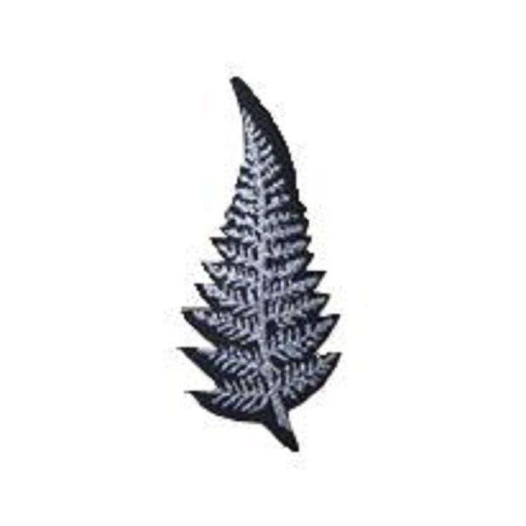 New Zealand Large Silver Fern Motif