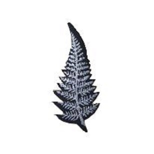 New Zealand Large Silver Fern Motif