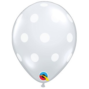 Qualatex Diamond Polka Dots Latex Balloon