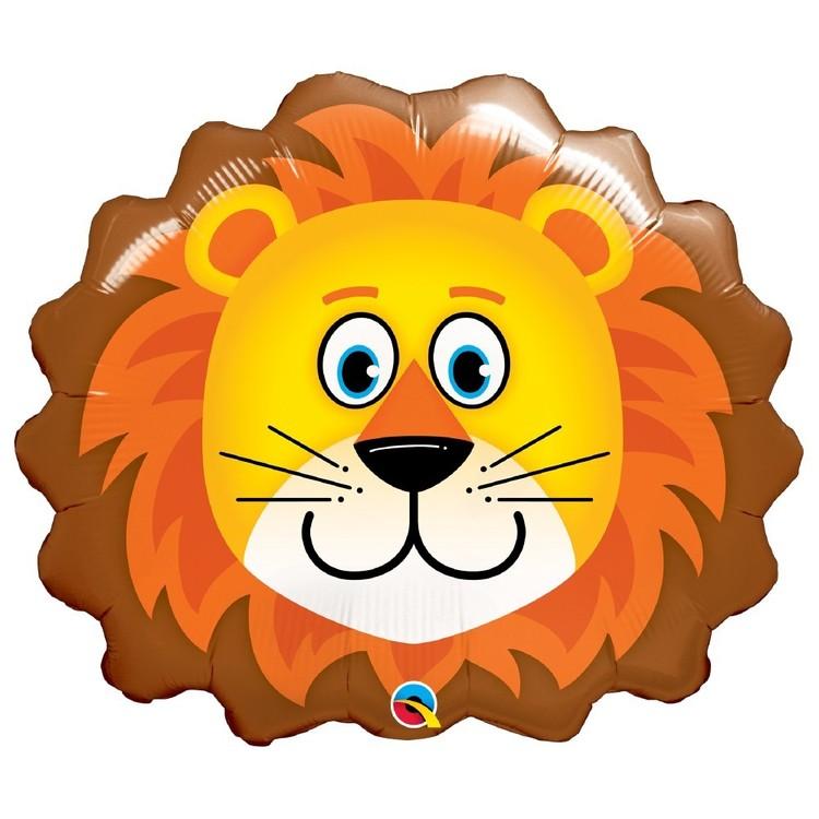 Qualatex Loveable Lion Foil Balloon
