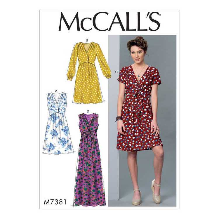 McCall's Pattern M7381 Misses' Surplice