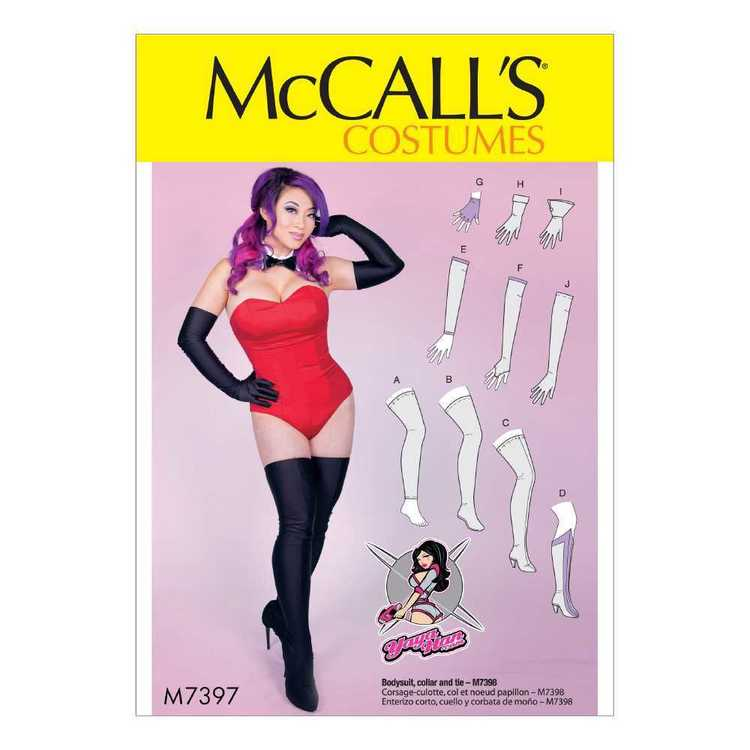 McCall's Pattern M7397 Gloves