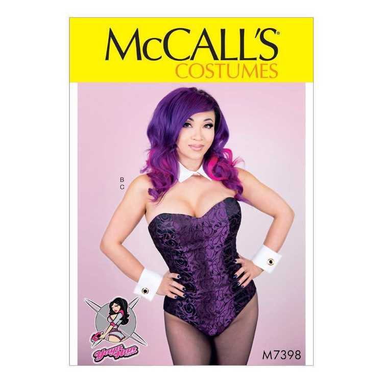 McCall's Pattern M7398 Corseted Bodysuit