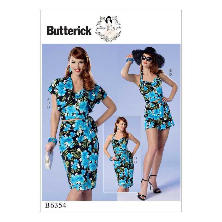 Butterick Pattern B6354 Misses' & Misses' Petite Bolero