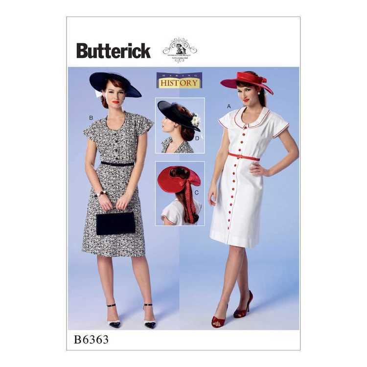 Butterick Pattern B6363 Misses' Button-Front