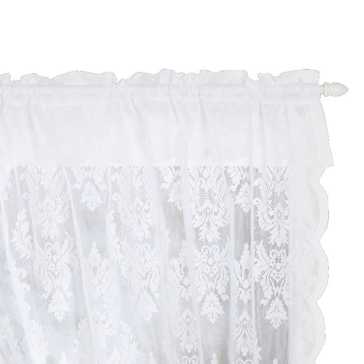 Filigree Classique Crossover Lace Curtain