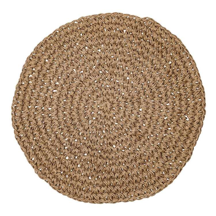 Ladelle Allen Knife Edge Round Placemat