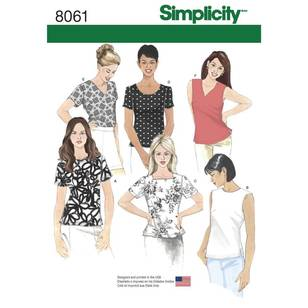 Simplicity 8061 Misses' Tops