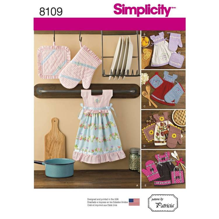 Simplicity Pattern 8109 Towel Dresses